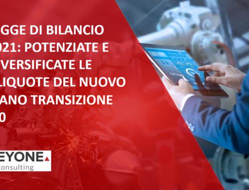 LEGGE DI BILANCIO 2021 – TRANSIZIONE 4.0