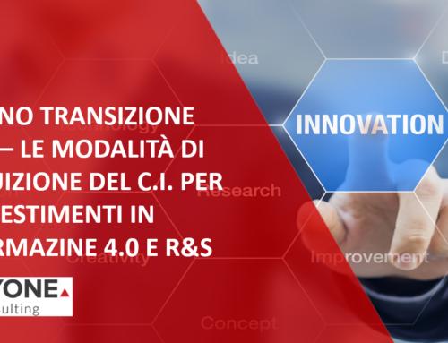 MODALITÀ DI FRUIZIONE FORMAZIONE 4.0 E R&S